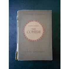 LUDWIG HOLBERG - TREI COMEDII (1922, cotor uzat)
