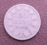 Moneda   50  bani  1900
