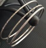 bratara fixa de argint 835 (lot 3 buc.)