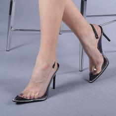 Pantofi dama Calista negri