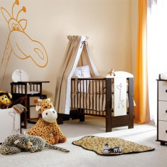 Mobila Camera Copii Si Bebelusi Klups Safari Giraffe