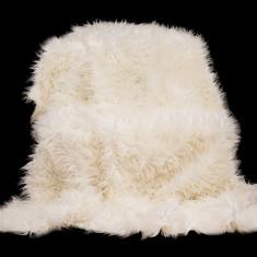 Cuvertură pat alpaca 150/200, blana sintetica