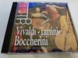 Vivaldi ,tartini, Boccherini -3102, CD