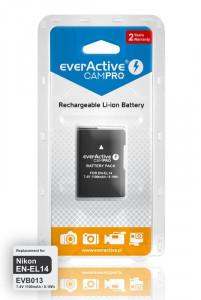 Acumulator camera compatibil EN-EL14 7,4V 1100mAh Li-Ion Tip Nikon EverActive CamPRO