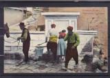 ROMANIA NOUA  DOBROGEA TURTUCAIA TIPURI DIN TURTUCAIA  CISMEAUA CIRCULATA 1915