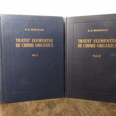 TRATAT ELEMENTAR DE CHIMIE ORGANICA-C.D.NENITESCU 2 VOLUME