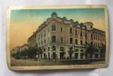 Carte postala veche 1927 Bucuresti B-dul Elisabeta Cafe si Sala Vesta, circulata