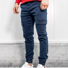 Pantaloni cargo bărbați bleumarin Bolf KA1300