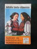 NATALIA TAUTU STANESCU - APLICATII DE BRODERII ROMANESTI