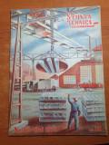 Stiinta si tehnica pentru tineret mai 1950-55 de ani de radio,escavatorul e-505