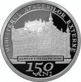 150 ani de la înfiinţarea Ministerului Afacerilor Externe BNR 10 lei 2012