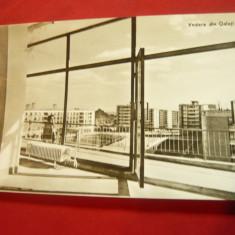 Ilustrata Galati - vedere circulat 1964