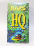 Caseta video VHS RAKS E-180 HQ - sigilata