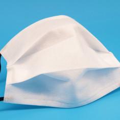 Masca de protectie din material netesut din polipropilena, 2 straturi 50 buc