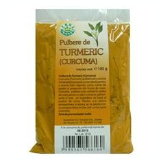 Turmeric Pulbere Herbavit 100gr Cod: herb00344