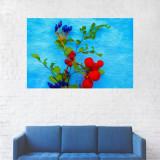 Tablou Canvas, Fructele din flori - 40 x 60 cm
