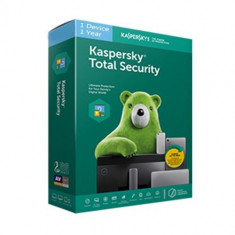 Kaspersky Total Security 2020 Licenta / Abonament 1 AN 1 PC