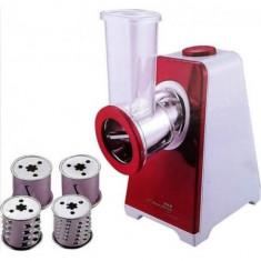Procesor electric pentru alimente Hausberg, 250 W, 4 accesorii incluse