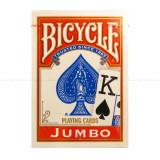 Carti Bicycle Rider Back JUMBO index rosu