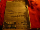 Revista Ziarul Stiintelor si al Calatoriilor 2 sept. 1941 , canotaj pe coperta