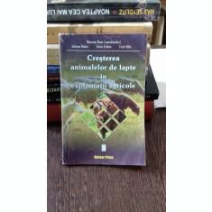 CRESTEREA ANIMALELOR DE LAPTE IN EXPLOATATII AGRICOLE - MARIANA BRAN