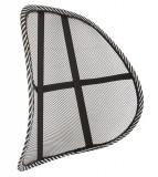 Suport lombar pentru scaun birou sau auto, 40x38x13cm, negru