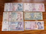 Romania - Lot nr. 3  Bancnote hartie 1992 - 2000