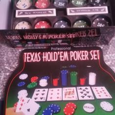 Poker Texas Holdem Set 200 Chips, Texas Hold'em