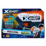 Blaster X-Shot Excel Kickback cu 8 gloante de spuma, Zuru
