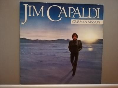 Jim Capaldi (Traffic family) – One Man Mission (1984/Warner/RFG) - Vinil/NM+ foto
