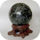 Sfera Gabbro 55 mm_colectie roci_minerale * cod 4 *