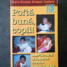 MARIA RICMAN, OLIMPIA TEODORU - POFTA BUNA, COPII!