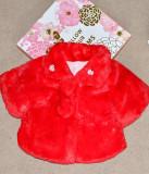 Jacheta groasa din blanita rosie