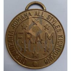 Medalie FRAM Organizatia Romana All Styles Kickboxing Campionatul National 1993