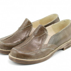 Pantofi dama casual din piele naturala - Made in Romania ROVI26MDEL