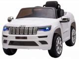 Cumpara ieftin Masinuta electrica Premier Jeep Grand Cherokee, 12V, roti cauciuc EVA, scaun piele ecologica, alb