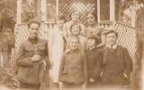Fotografie ofiter roman decorat 1927 Bucuresti