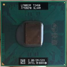 Procesor laptop Core 2 Duo  T2450  2M Cache/ 2.0GHz /533