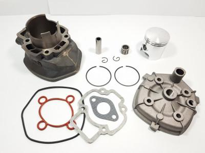 Kit Cilindru Set Motor + CHIULOASA Scuter Derbi GP 80cc 5 colturi APA foto