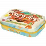 Cutie metalica cu bomboane - Happy Hour