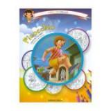 Pinocchio: carte de colorat + poveste. Carla coloreaza