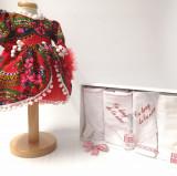 Cumpara ieftin Set Traditional Botez Fetita - Costumas + Trusou - TUL 2