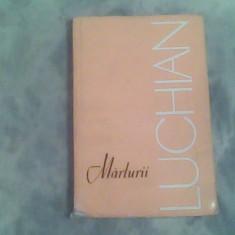 Marturii despre Luchian-antologie-Marin Mihalache