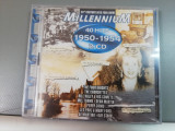 Millennium 40 Hits 1950-1954 - 2CD - Selectiuni - (1998/EMI/UK) - CD/Nou-Sigilat, emi records