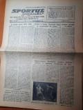 sportul popular 29 noiembrie 1954-CCA,flacara ploiesti,dinamo si metalul resita