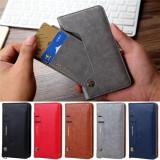 Husa eleganta cu clapa, din piele, tip portofel, stabila pe verticala, pentru iPhone X/8P/8/7P/7/6P/6 si Samsung s9/s9P/N8