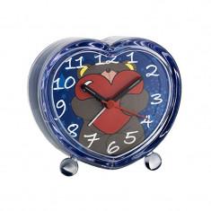 Ceas desteptator pentru camera copilului TFA, mecanism quartz, model ursulet