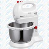 Cumpara ieftin Mixer cu bol rotativ din inox Heinner, 300W, 3,4 litri