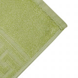 Cumpara ieftin Prosop de fata Bianca Cu Model Grecesc verde 50×90 cm