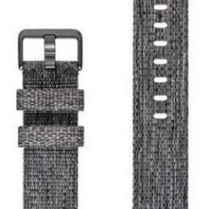 Curea de schimb Fitbit FB168WBGYL pentru Fitbit Charge 3, Marimea L (Negru)